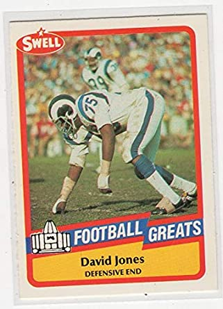 49a7b2baa9e Amazon.com: David Deacon Jones Football Greats HOF Card-Los Angeles ...