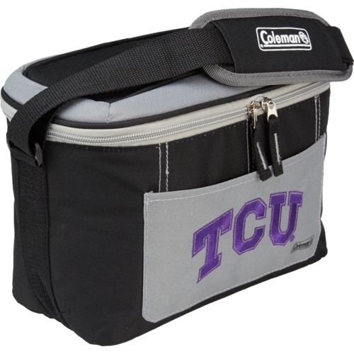 NCAA Texas Christian Hornfrogs 12 Can Soft Sided Cooler (Stadium Embroidered Logo Blanket)