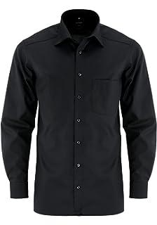 Camisa para hombre modern Fit extra de manga larga: Amazon.es: Ropa y accesorios