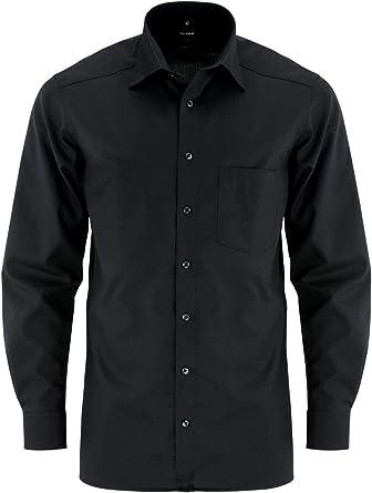 Camisa para hombre modern Fit extra de manga larga: Amazon ...