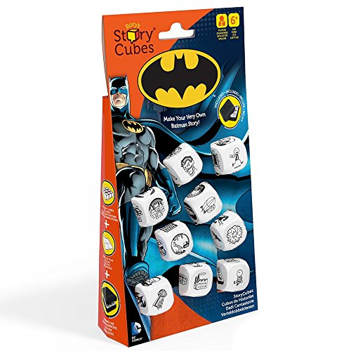 Creativity Hub Rory's Store Cubes: DC Comics Batman Dice Game Set