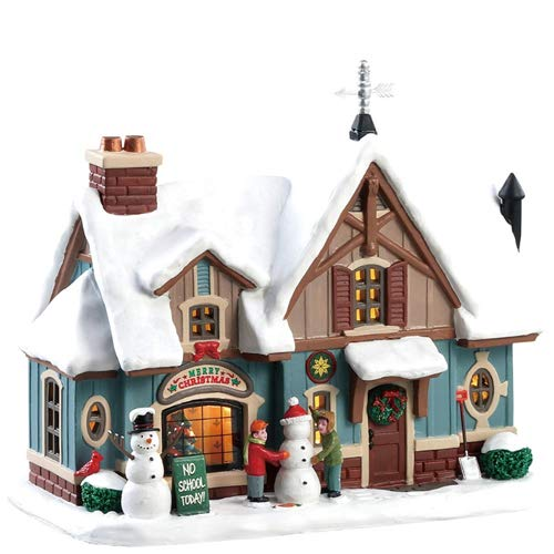 Lemax Village Collection Snow Day! #85356 (Collection Village Christmas)