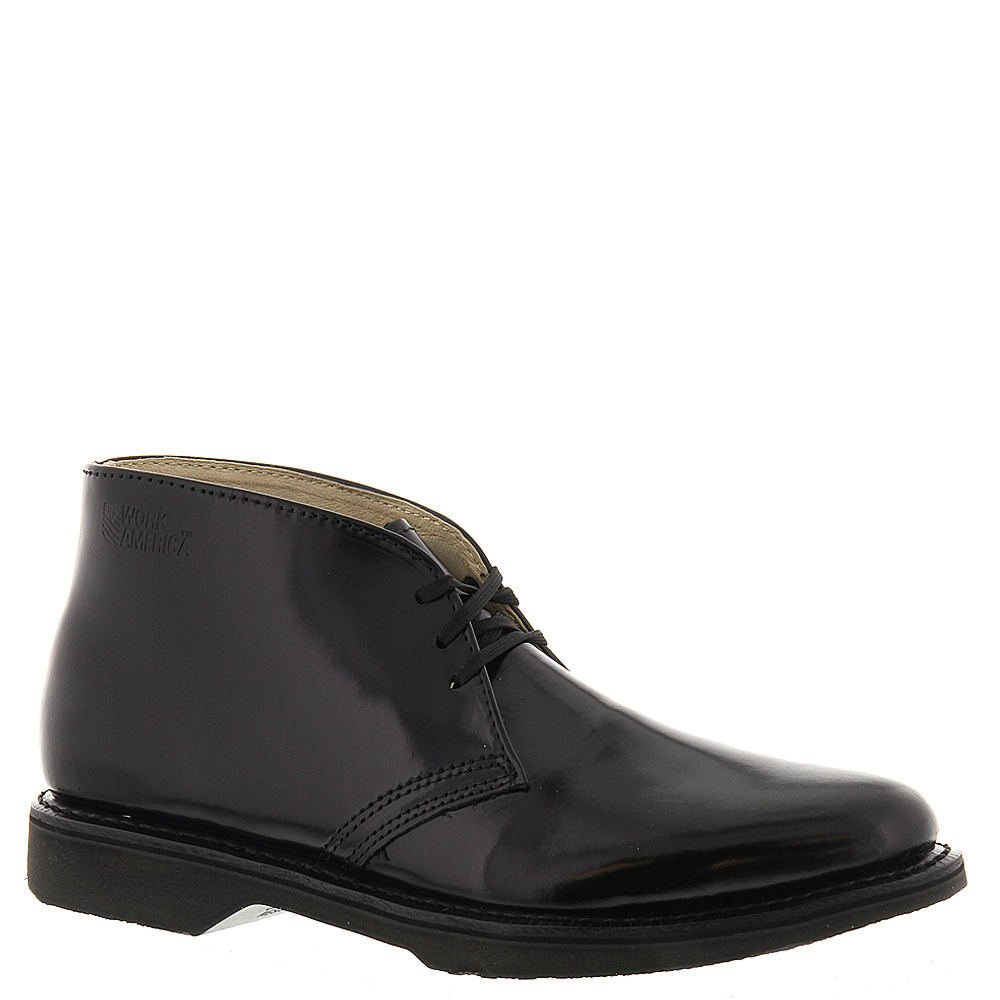 Work America Mens Work Chukka 9.5 2E US Black