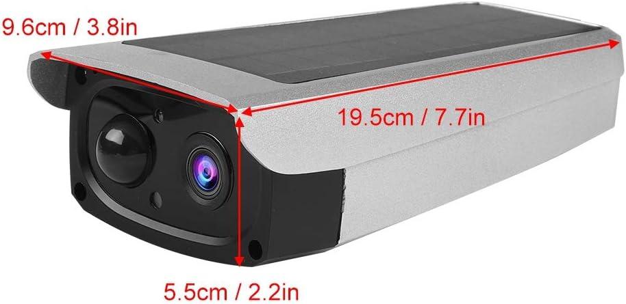 c/ámara de visi/ón Nocturna IP65 Zoternen C/ámara de Seguridad 1080P HD inal/ámbrica con c/élula Solar Giro Horizontal de 160 Grados