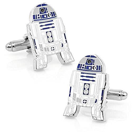 BTS Star Wars R2D2 Symbol Cufflinks Men's Novelty Cuff Links - YH-1747