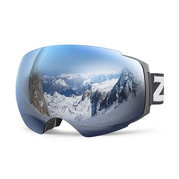 9adb9794a14 ... Zionor X4 Ski Snowboard Snow Goggles Magnet Dual Layers Lens Spherical  Design Anti-fog UV Protection Anti-slip Strap for Men Women. Sale! 🔍. On  Sale