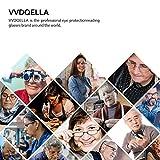 VVDQELLA Women's Bifocal Sunglasses Reading