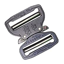 "AustriAlpin Cobra Buckle 2"" Dual Adjustable No-Sew"