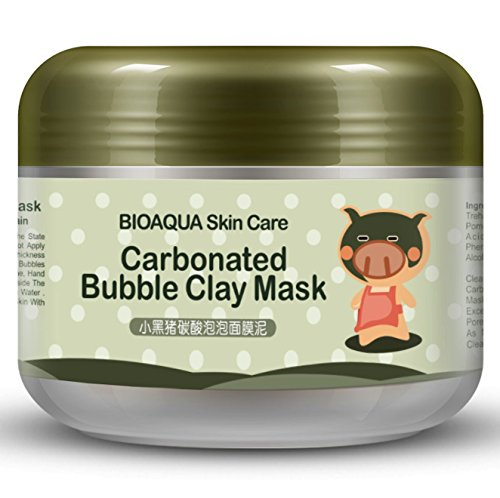 pig carbonated bubble clay mask