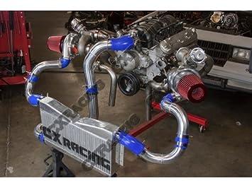Amazon.com: Twin Turbo Intercooler Piping Kit For G-Body LS1 LS Motor Cutlass Grand National Monte Carlo: Automotive