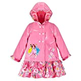 Disney Store Princess Cinderella/Ariel/Belle Rain Jacket/Raincoat Large 9/10