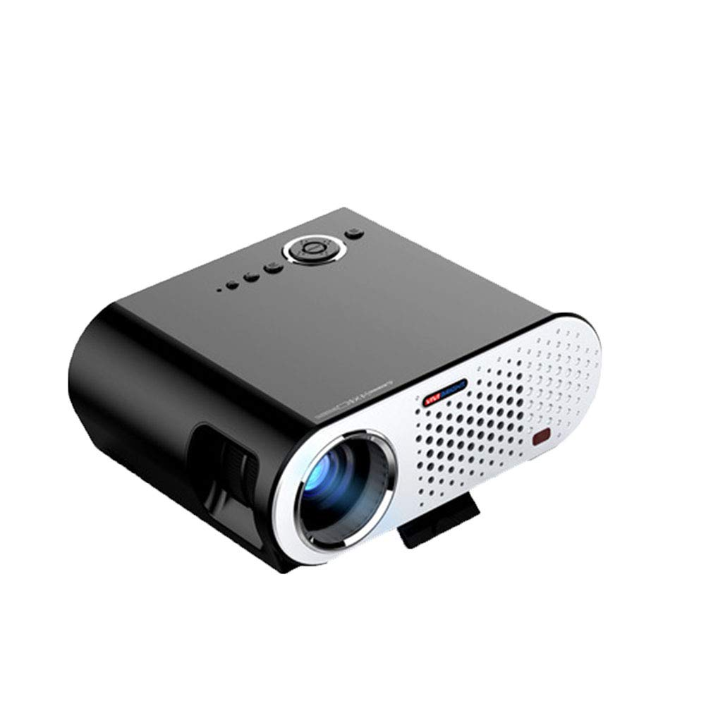 プロジェクター ポータブルミニプロジェクター、 LED 1080P HD投影、WIFI接続、 に適して ファミリー/劇場/パーティー B07QYQNYDP