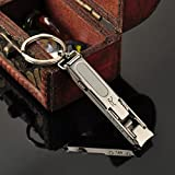 Ultra-thin Foldable Hand Toe Nail Clippers Cutter Trimmer Stainless Keychain Wholesale Quality