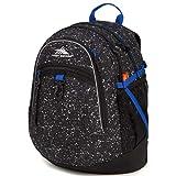 High Sierra Fatboy Backpack, Speckle/Black/Vivid Blue