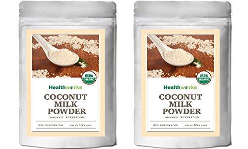 Healthworks Coconut Milk Powder Organic (Dairy Free), 2lb (2