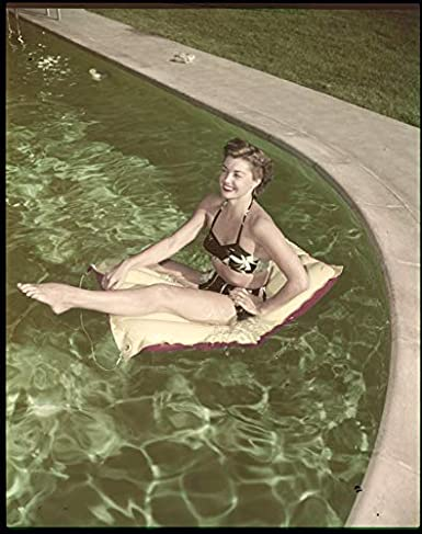 Esther Williams Swimsuit Pin Up Photo Float Swimming Pool ...