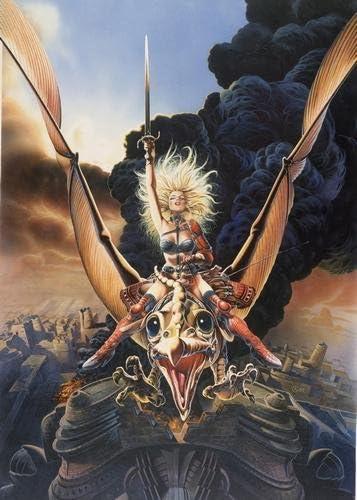 Amazon Com Heavy Metal Movie Poster Taarna Art No Text 24x36 Prints Posters Prints
