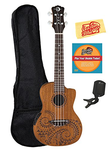 electric ukulele for sale only 3 left at 60. Black Bedroom Furniture Sets. Home Design Ideas
