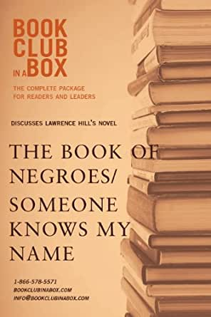 Amazon Bookclub In A Box Discusses The Book Of Negroes