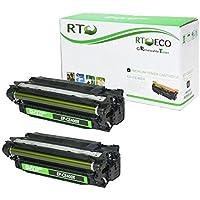 Renewable Toner Compatible Toner Cartridge Replacement for HP 507X ( Black , 2-Pack )