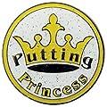 Navika Putting Princess Glitzy Ball Marker with Hat Clip