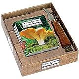 Le coffret Larousse des champignons : 1 livre et 1 couteau à champignons