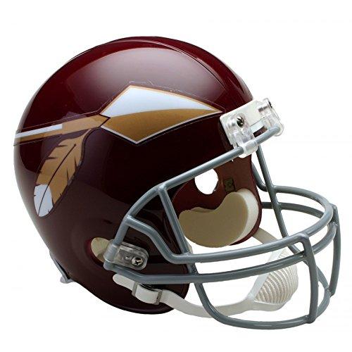 Riddell NFL Washington Redskins 1965-1969 Throwback Replica Vsr4 Full Size Football Helmet 1969 Riddell Mini Replica