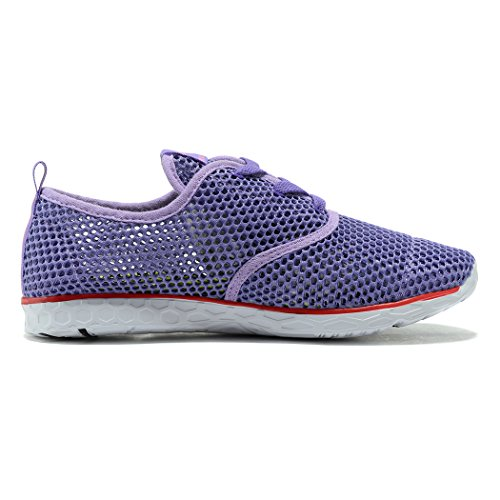 Aqua Shoes Womens Trainer Sport Purple Pool Surf Beach Water Kenswalk Swim Water q4xwf6xEv
