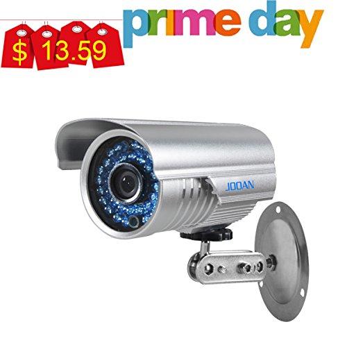 JOOAN Video Monitor Analog Camera Bullet Surveillance Camera with Night Vision HD720P CCTV Camera-Update...