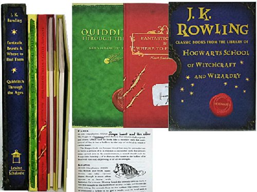 JK Rowling Classic Books from the library of Hogwarts School of Witchcraft and Wizardry : Fantastic Beasts and Where to Find Them / Quidditch Through the Ages ebook