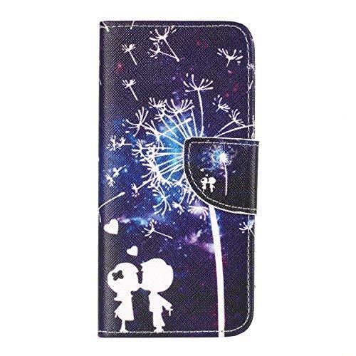 Ecoway Serie pintada Caja del teléfono de moda para Samsung Galaxy S8 - Three feathers Couple