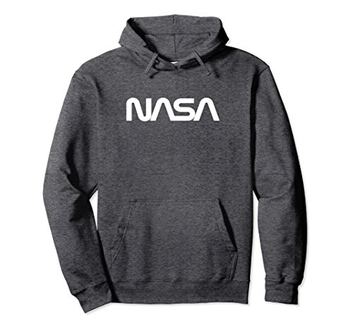 Unisex NASA Worm Hoodie 2XL Dark (Adult Nasa Flight Suit)