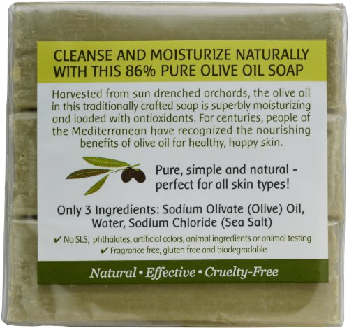 Benefits of olive soap