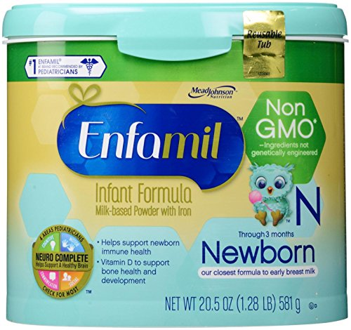 how to make enfamil newborn formula