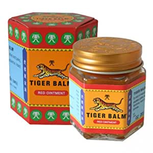 Tiger Balm (Red) Super Strength Pain Relief Cream (30 Grams)