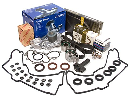 Evergreen TBK271MHVCACT2 Fits Toyota Pickup Tacoma 3.4L 5VZFE Timing Belt Kit Valve Cover Gasket AISIN Water Pump