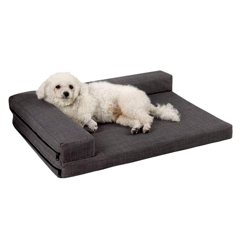 Erosmmg 犬猫ベッド - 犬&猫のための低反発ペットベッド - 小型中型&大型ペットベッドソファ猫の巣犬の巣 (サイズ さいず : Xl xl)  Xl xl