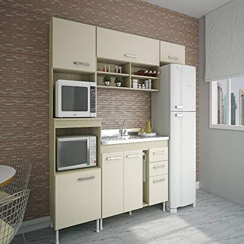 Cozinha Compacta Atualle California 4055R Cream Natura SE