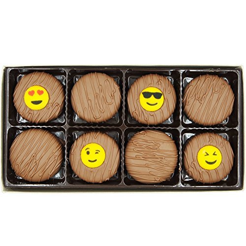 Cool Emojis Milk Chocolate Covered OREO Cookies