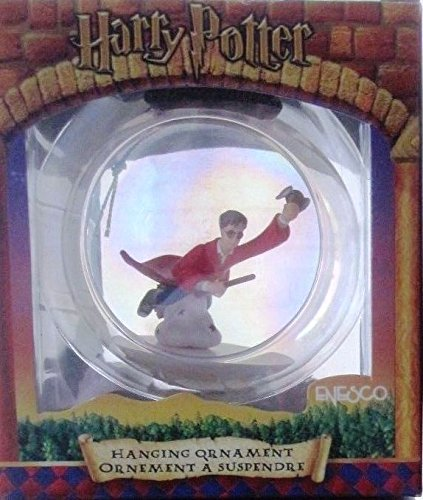 Harry Potter Hanging Opalescent Glass Ball Ornament