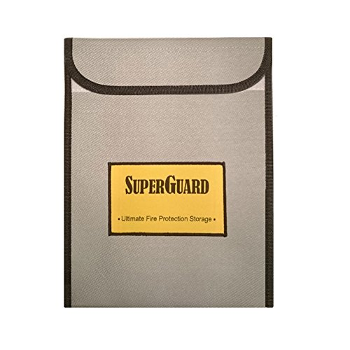 Rated Money Chest (SUPERGUARD Ultimate Fire Resistant Wallet Large 11