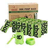Usboo Dog Poop Bags with Dispencer and Leash Clip, Pet Waste Bag Refill Rolls (240 COUNT)