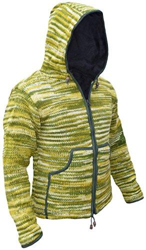 Green Tie Lunghe Kathmandu Maniche Giacca Dye Uomo Little qSU1TS