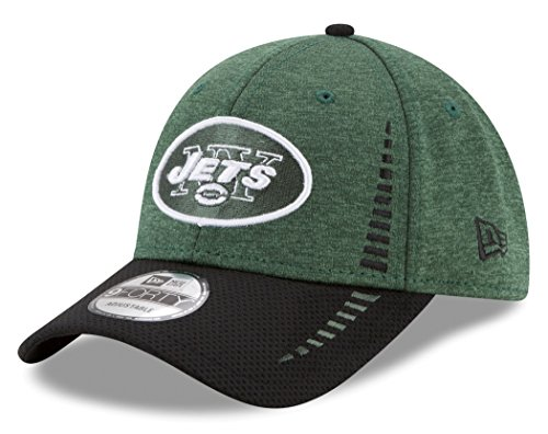 (NFL New York Jets Adult Men Ne Speed Tech 9FORTY Adjustable Cap, One Size, Green)