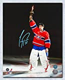 Autograph Authentic PRIC105044 Carey Price Montreal Canadiens Autographed Torch Ceremony 11 x 14 in. Photo