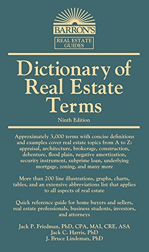 Dictionary of Real Estate Terms (Barron