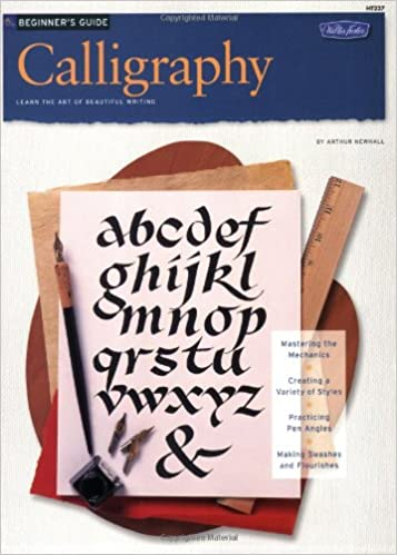 beginners guide calligraphy how to draw and paint art instruction program