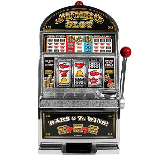 Trademark Gameroom Jumbo Slot Machine Bank - Replication (Slot Jumbo Bank)