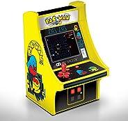 Cabine portátil retrô com Joystick Pac Man Micro Player Dreamgear DGUNL-3220 Amarela