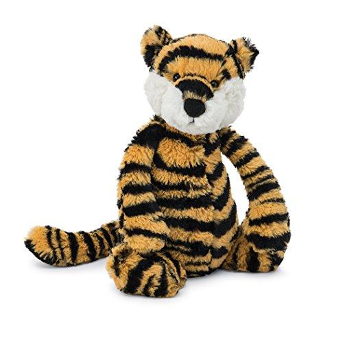 Jellycat Bashful Tiger Cub, Medium, 12 inches - London Tigers